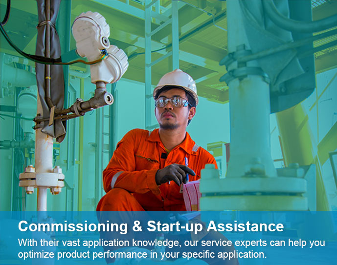 Service - Commissioning & Start-up assistance
