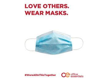 Printable Wear Masks Poster